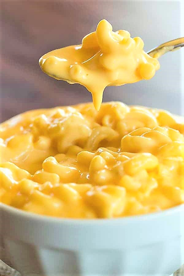 The ultra creamy sauce is so easy to whip up and you can use a variety of pasta; macaroni, shells, spiral – you name it!